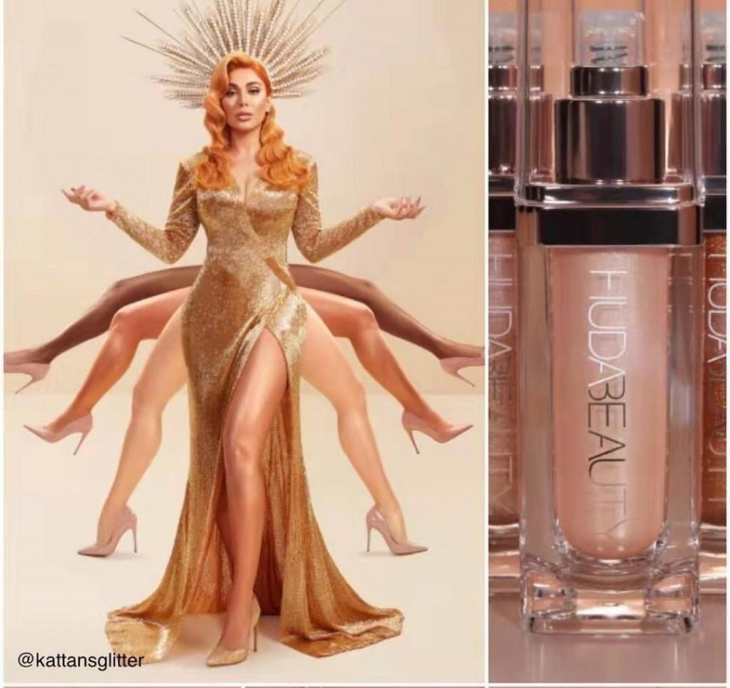 Хайлайтер жидкий для лица и тела Huda Beauty Body Highlighter, 45 мл.