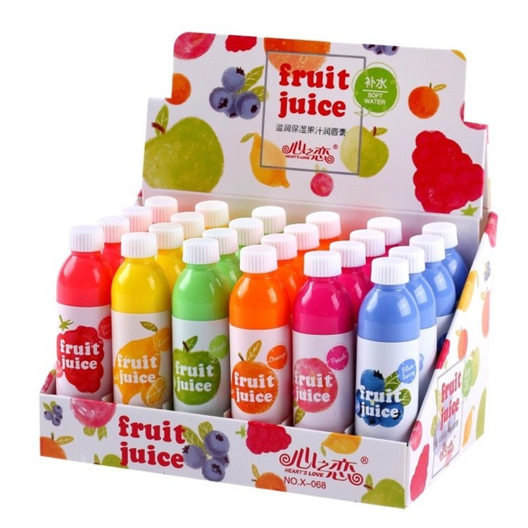 """Бальзам для губ """"Бутылка фруктового сока"""""""