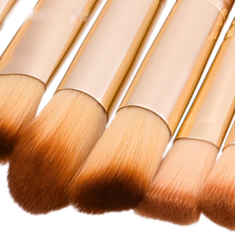 Набор бамбуковых кистей для макияжа 25 штук.
