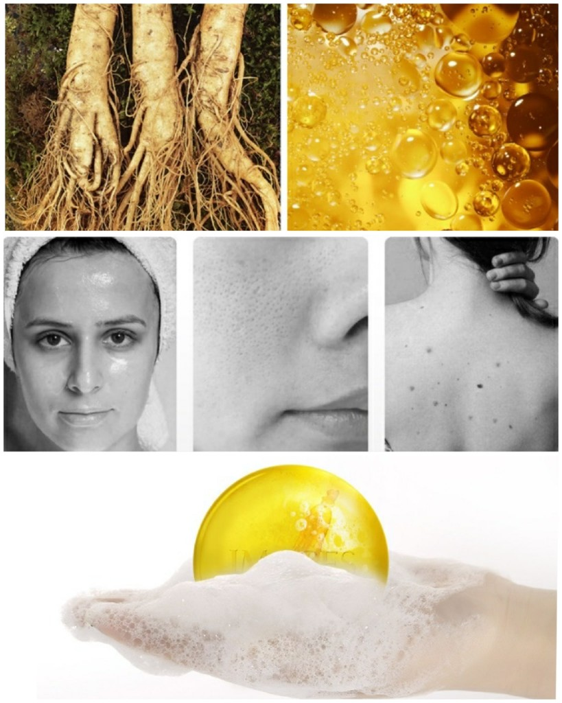 Лечебное мыло с корнем женьшеня  IMAGES Clean Soap, 100 гр.