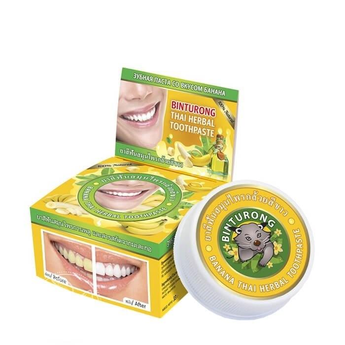 Тайская зубная паста в ассортименте Binturong, 33 гр.